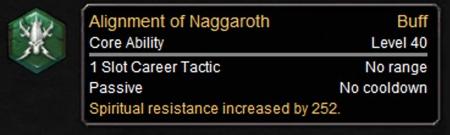 Alignment of Naggaroth