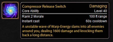 Compressor Release Switch