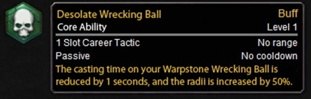 Desloate Wrecking Ball