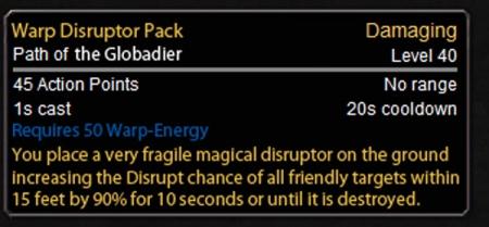 Warp-Disruptor Pack
